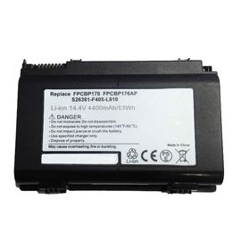 Chine Batterie de FPCBP176 FUJITSU LifeBook AH550, batterie d'ordinateur portable de 14.4V 4400mAh usine